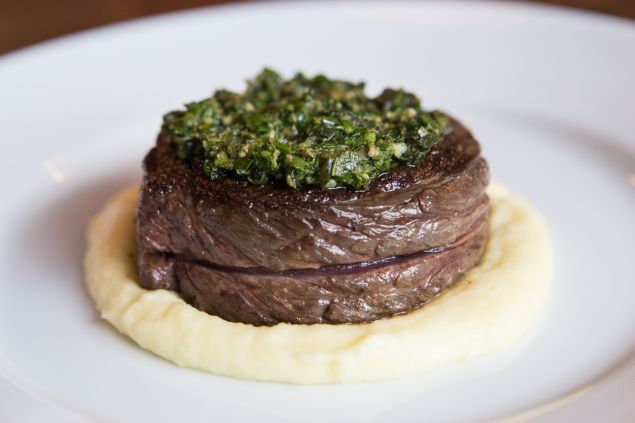Bowery Steak at The Bowery Meat Company by Arman Dzidzoivc/New York Observer