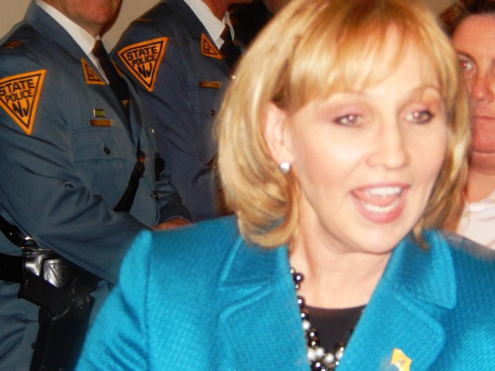 Lt. Gov. Kim Guadagno.