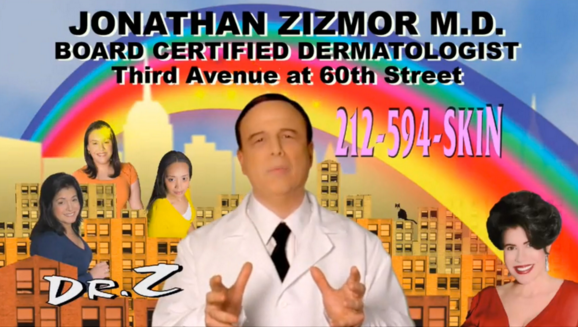 Dr. Zizmor, king of subway ads, has retired, prompting tributes on Twitter. (Photo: Twitter)
