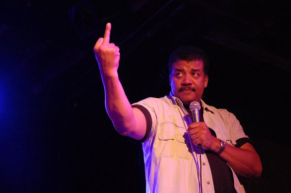 Watch out for Neil DeGrasse Tyson- or at least his rap alter ego. (Photo: Twitter)
