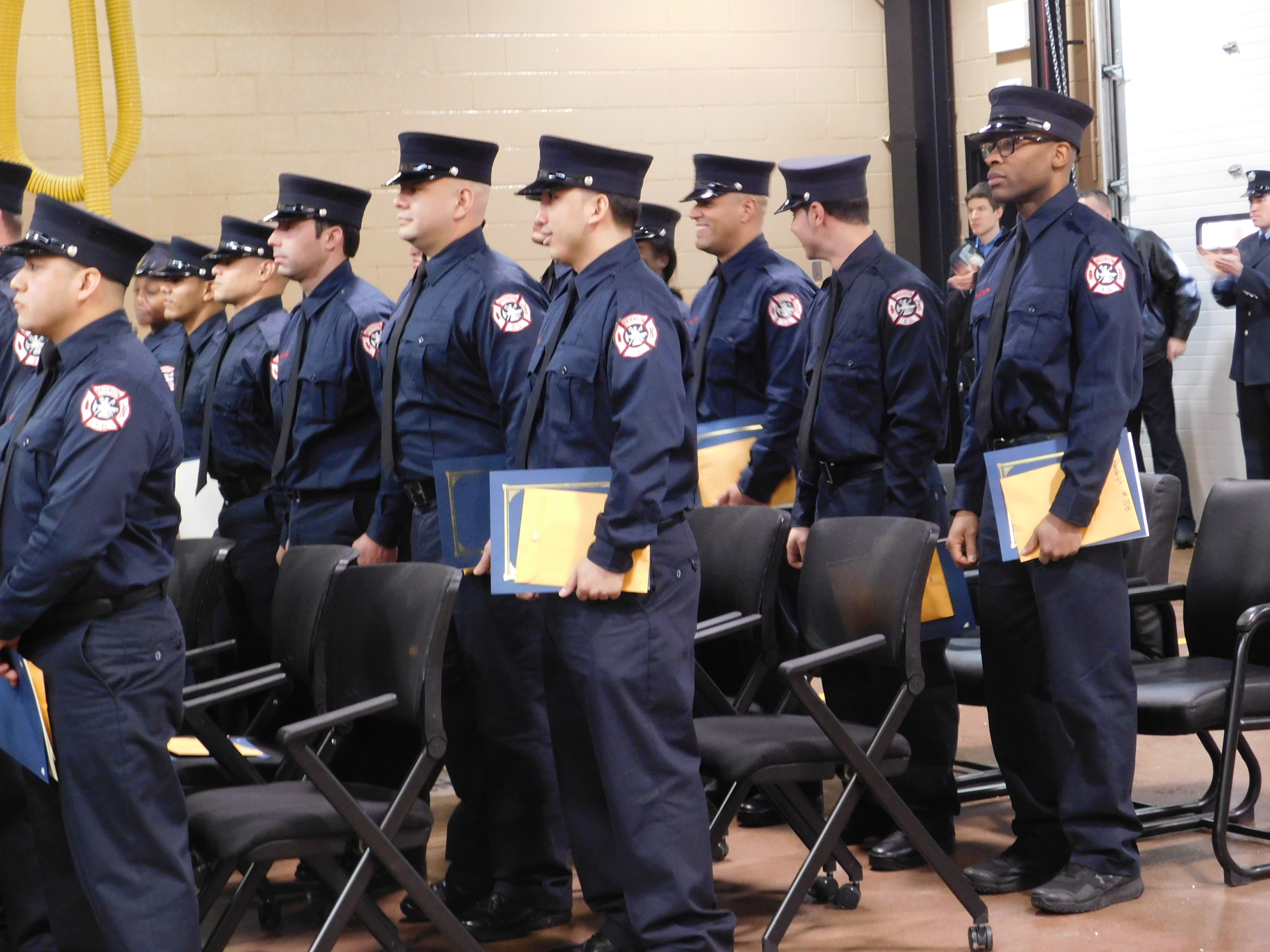 Paterson's new firefighters.