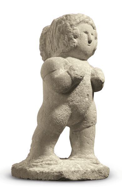 William Edmondson, Boxer, (ca. 1937). Est. $150,000-$250,000. (Photo: Christie's)