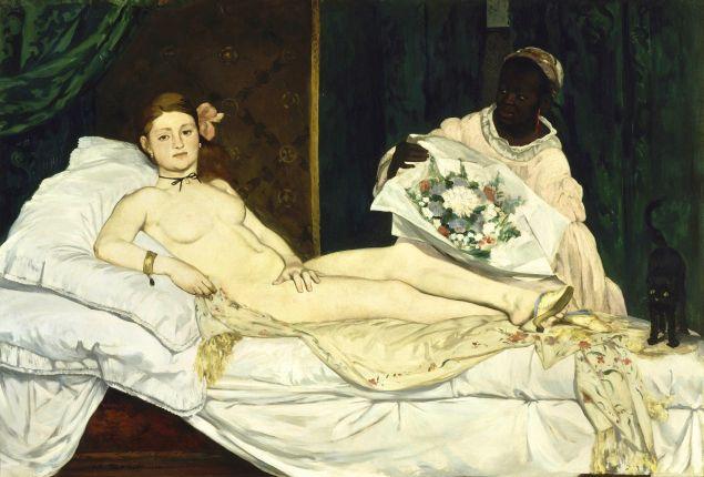 Edouard Manet, Olympia, (1863). (Photo: Wikimedia Commons)