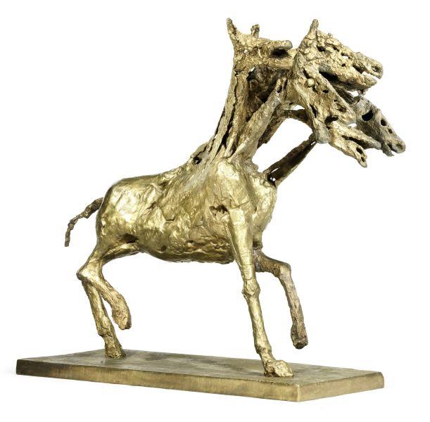 Another view of Germaine Richier's Le cheval à six têtes, grand. (Photo: Bonhams)