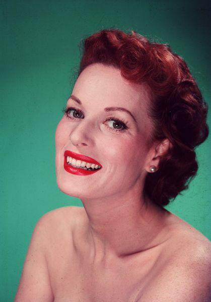 Maureen O,Hara. (Photo: Keystone/Getty Images)