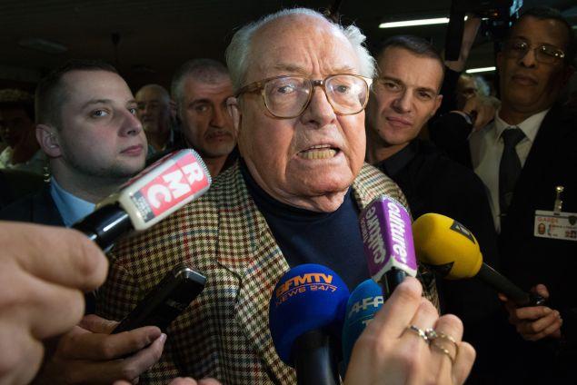 Jean-Marie Le Pen. (Photo Bertrand Langlois/AFP/Getty Images)