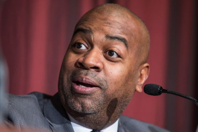 Newark Mayor Ras Baraka. (Photo: Andrew Burton for Getty Images)