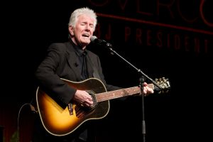Graham Nash recently announced he had split from his wife of 38 years. (Photo by Jay Janner-Pool/Getty Images)