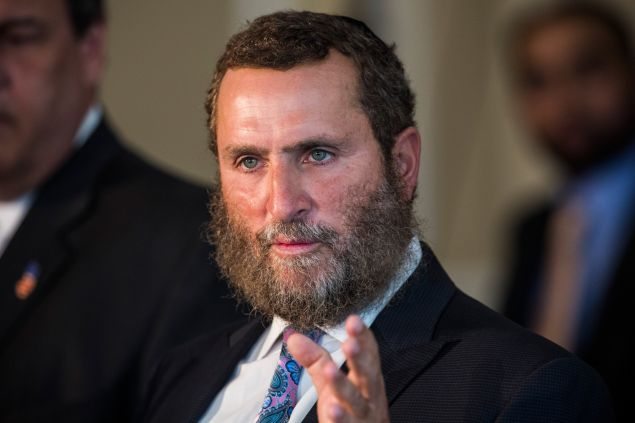 Rabbi Shmuley Boteach (Photo by Andrew Burton/Getty Images)