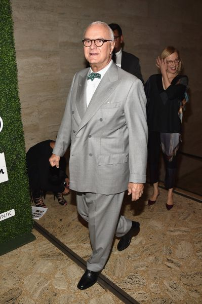 Manolo Blahnik (Photo: Bryan Bedder/Getty Images for Couture Council).