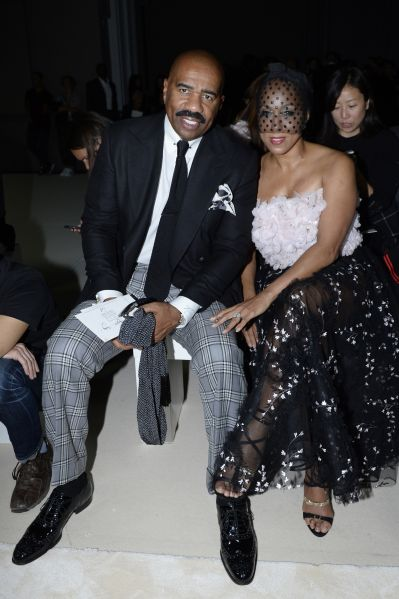 Steve and Marjorie Harvey (Photo: Getty Images).