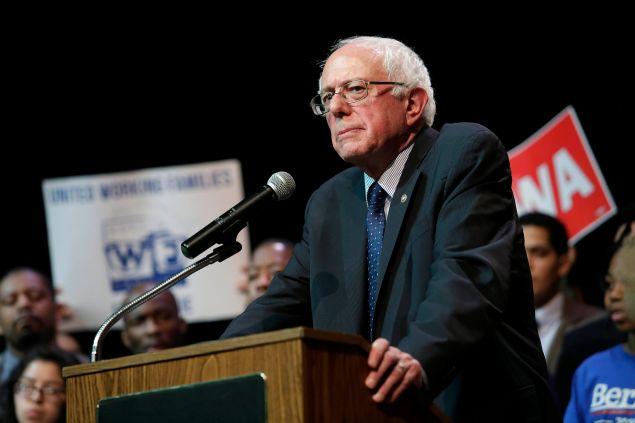 Sen. Bernie Sanders. (Photo: Joshua Lott for Getty Images)