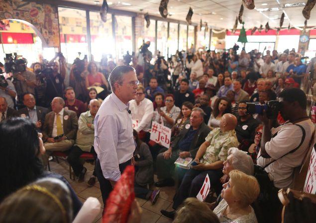 Jeb Bush. (Photo: Joe Raedle for Getty Images)