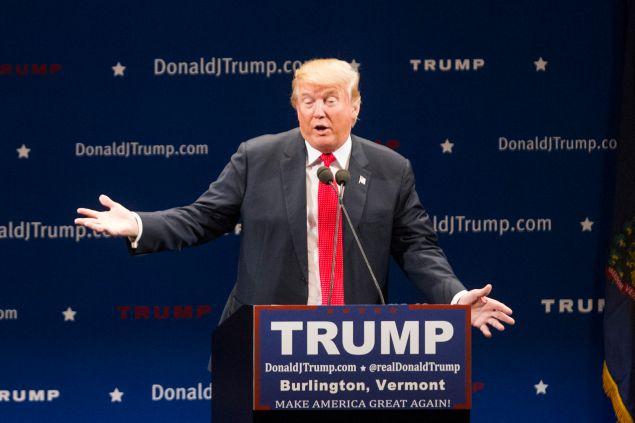 Donald Trump. (Photo: Scott Eisen for Getty Images)
