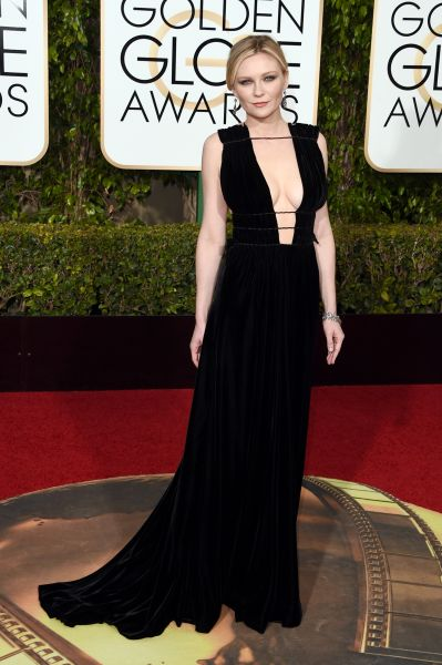 Kirsten Dunst in Valentino Couture (Photo: Jason Merritt/Getty Images).