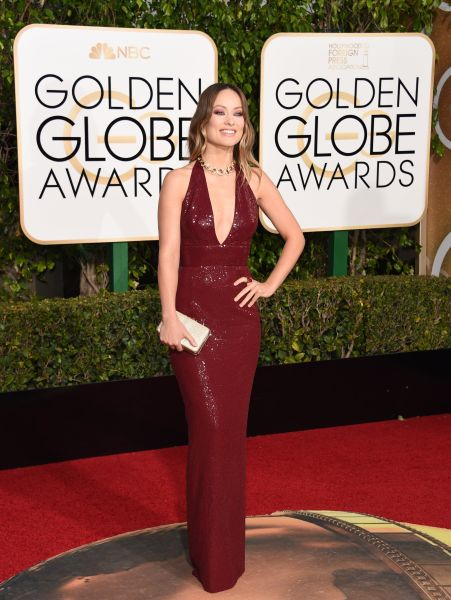 Olivia Wilde in Michael Kors Collection (Photo: Valerie Macon/AFP/Getty Images).