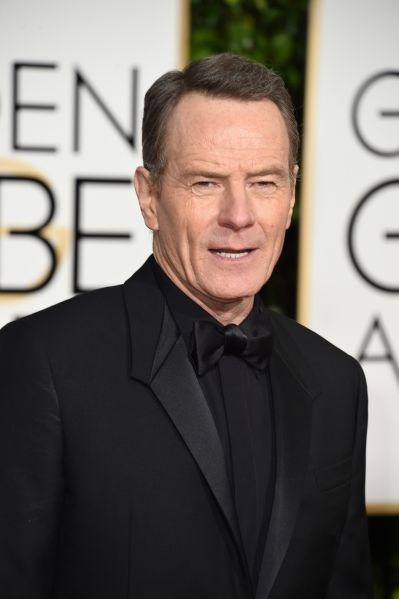 Bryan Cranston in Givenchy (Photo: Valerie Macon/AFP/Getty Images).