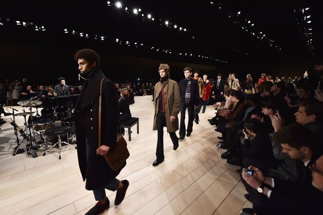 The Burberry finale (Photo: Gareth Cattermole/Getty Images for Burberry)