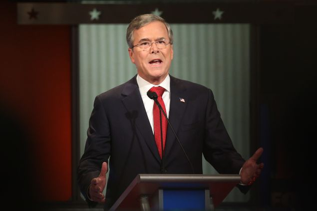 Jeb Bush. (Photo: Scott Olson for Getty Images)