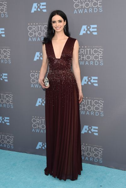 Krysten Ritter in Zuhair Murad Couture (Photo: Getty Images).