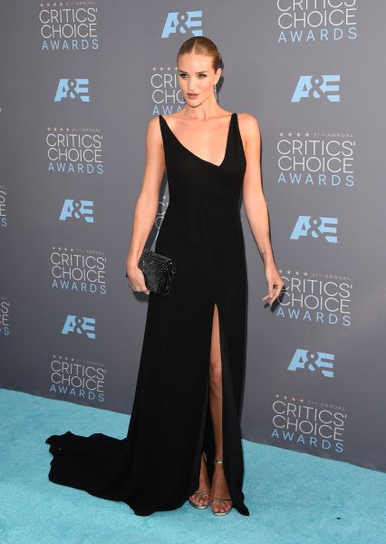 Rosie Huntington-Whiteley in Saint Laurent by Hedi Slimane (Photo: Getty Images).