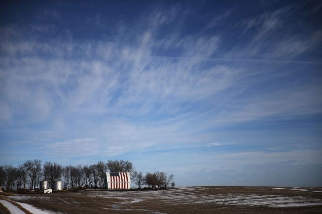 Farmland outside of Des Moines. (Photo: Joe Raedle for Getty Images)