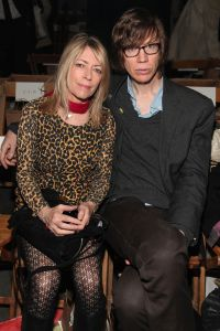 Sonic Youth's Kim Gordon and Thurston Moore split in 2011 after 27 years of marriage. (Photo by Astrid Stawiarz/Getty Images)