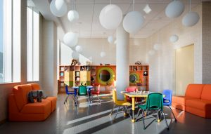 The playroom at Hunters Point South. (Photo: courtesy Related Companies)