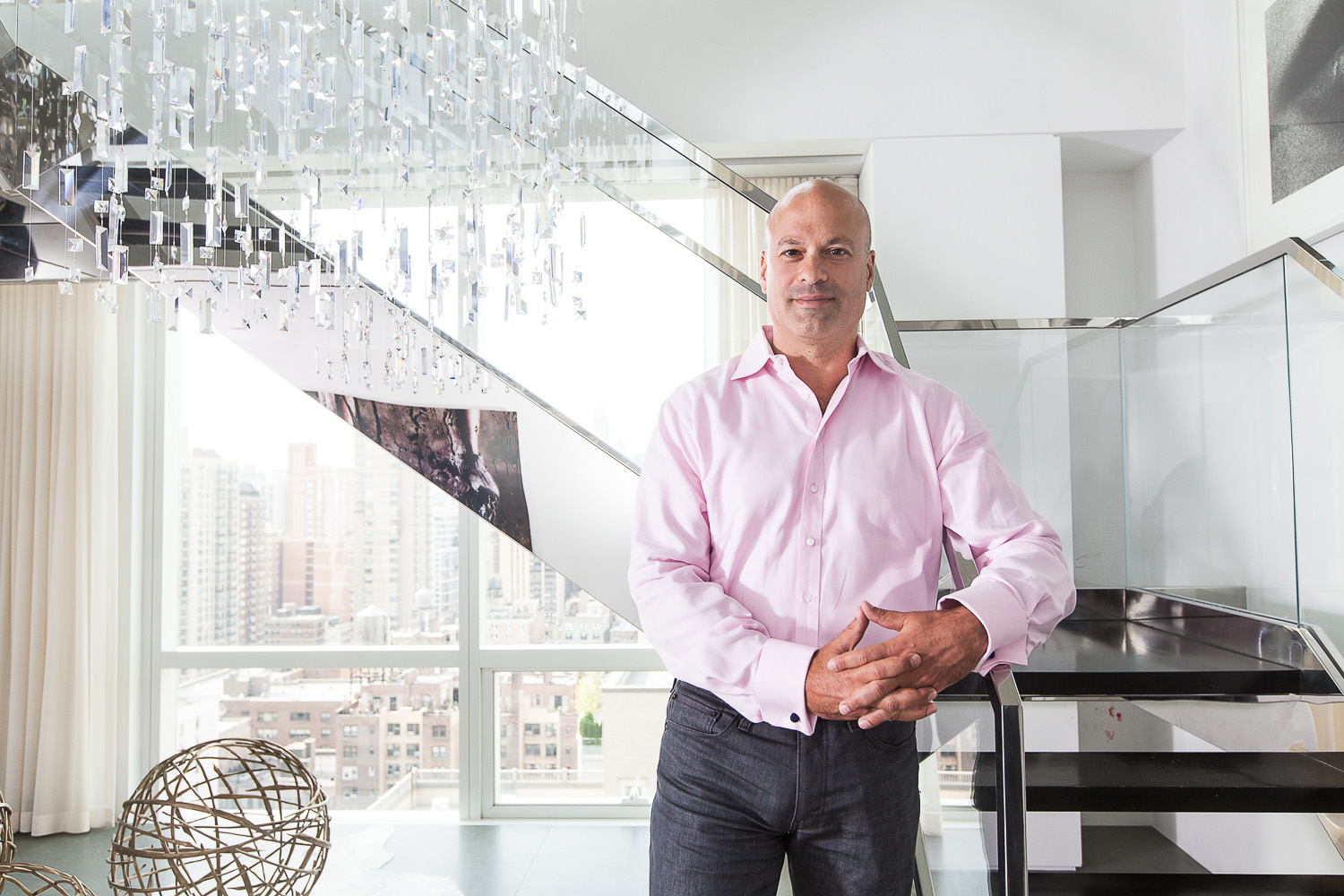 At Home With David Rosenblatt of First Dibs - PHOTO: Emily Assiran for Observer