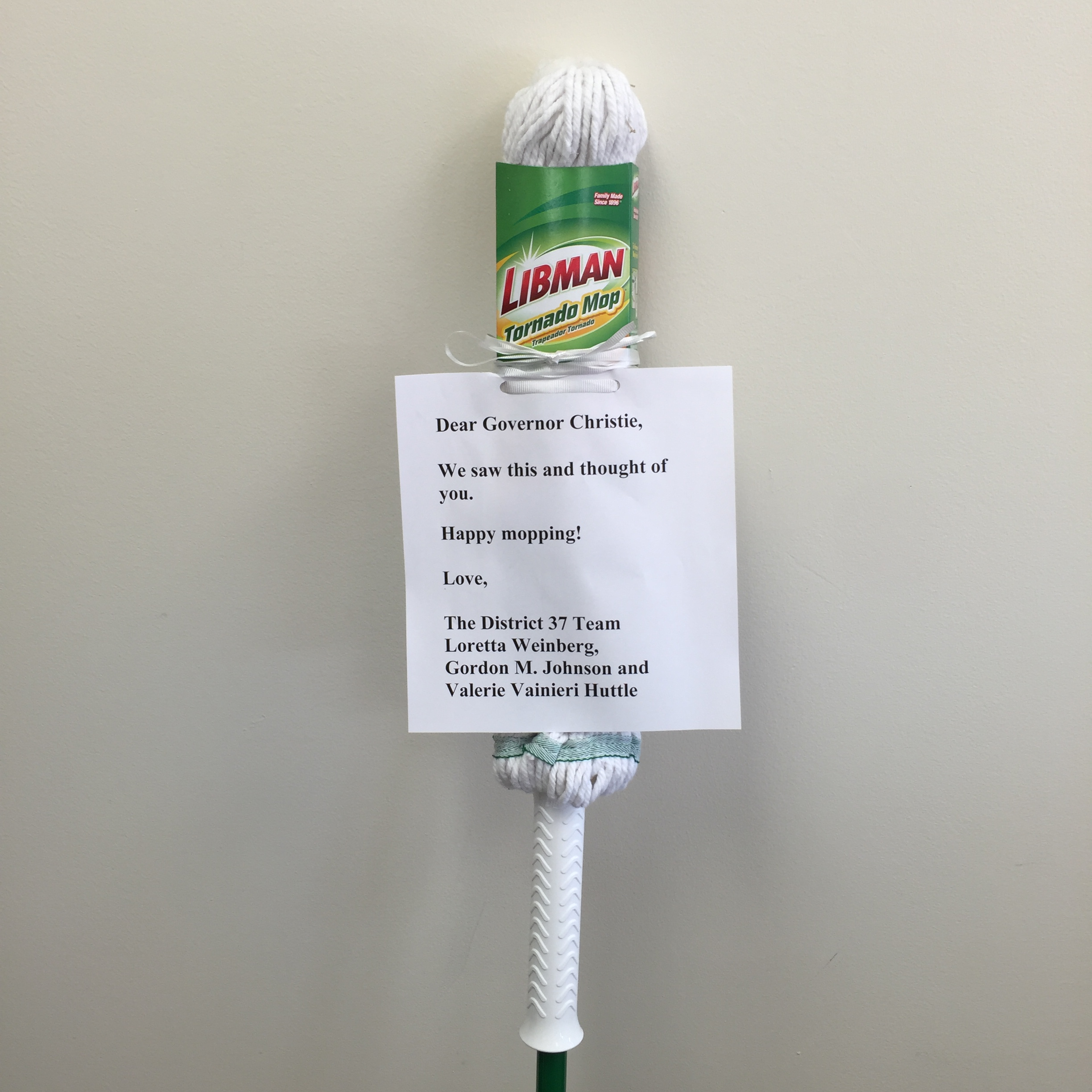A mop from the team in LD37.