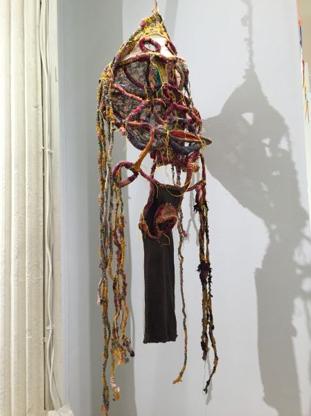 A hanging sculpture by Art Moura. (Photo: Alanna Martinez)