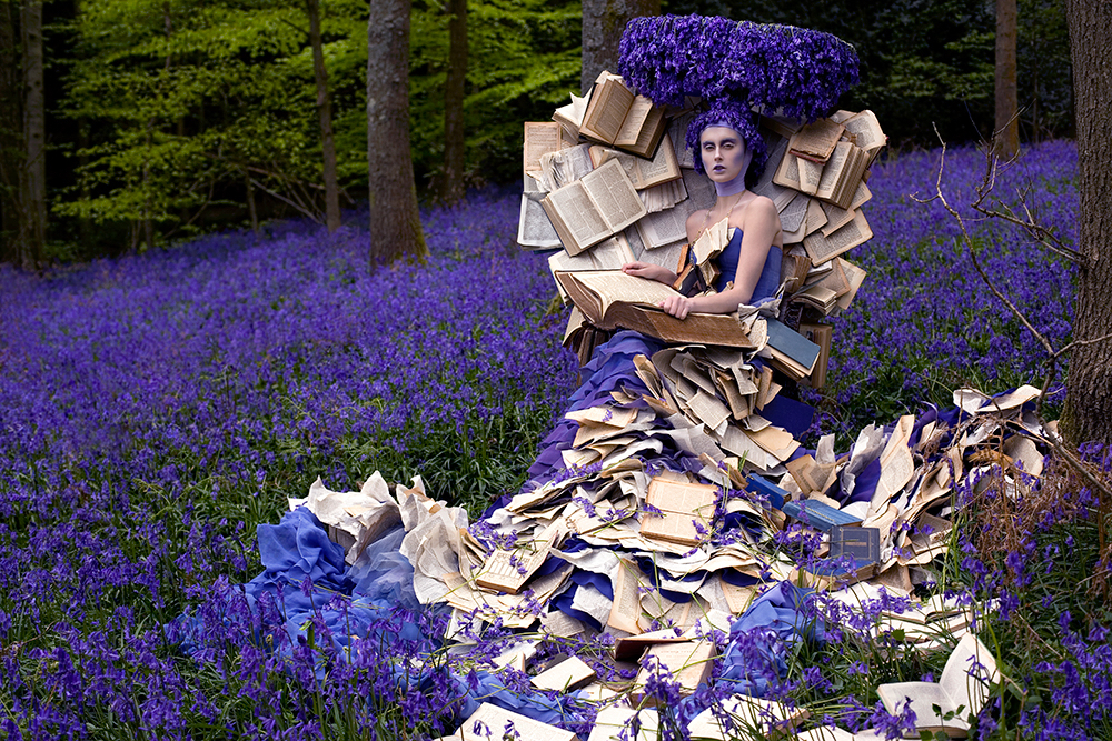 Kirsty Mitchell, The Storyteller, from the Wonderland series. Photograph courtesy Kirsty Mitchell ONLINE USE