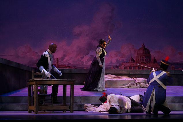 Tosca, performed by New York City Opera Renaissance. (Photo by Sarah Shatz)