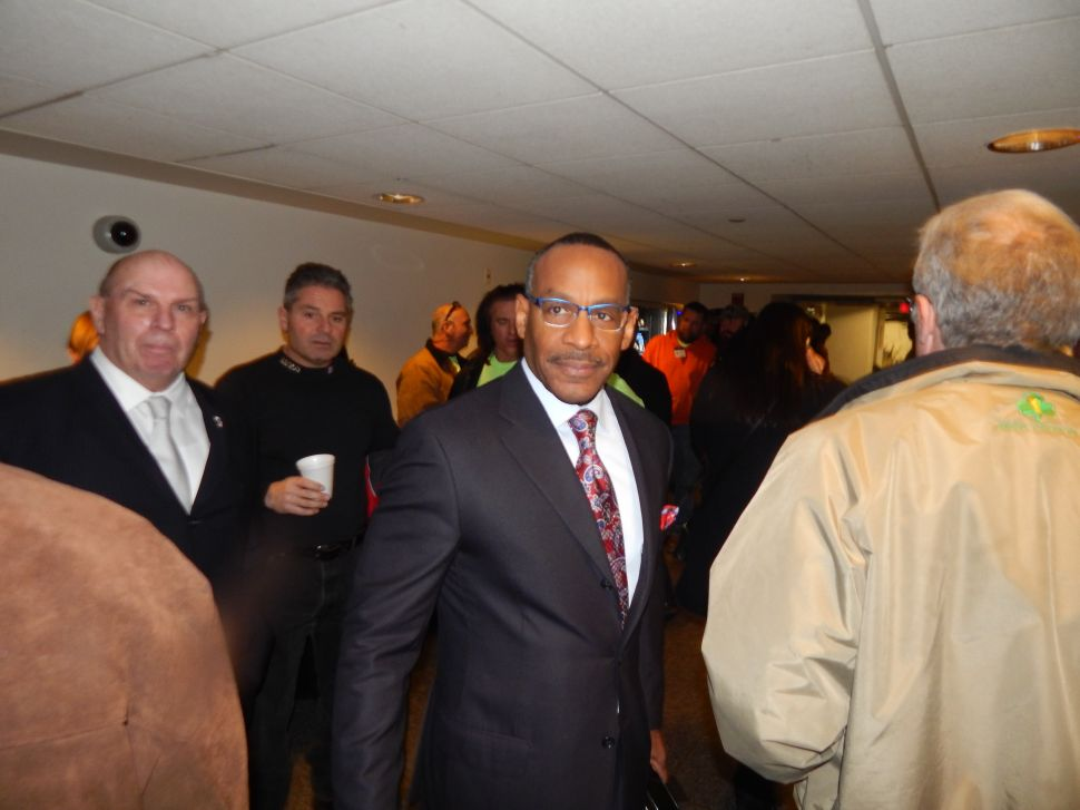 Essex County Democratic Chairman Leroy Jones.