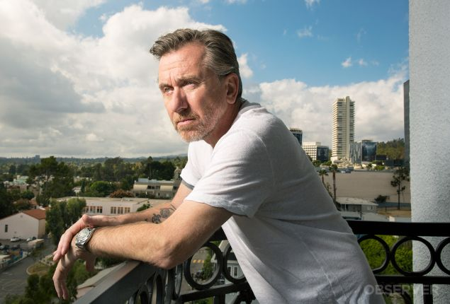 Tim Roth photographed by Michael Lewis in Los Angeles on 11/2/2015 for the New York Observer. PHOTO: Michael Lewis for Observer