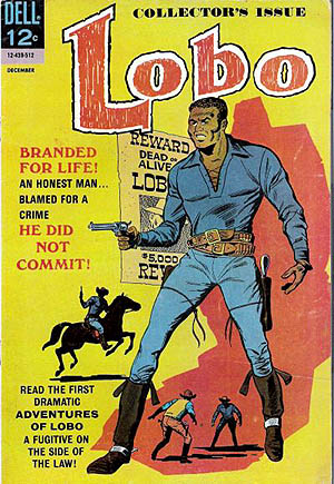 Lobo #1 from1965 was the first comic book to star an African-American hero with cover art by Tony Tallarico. (Photo: Courtesy of Wiki Commons)