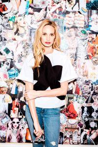 Lauren Santo Domingo, shot at Moda Operandi's offices in New York City. (Photo: Chris Sorensen for Observer).