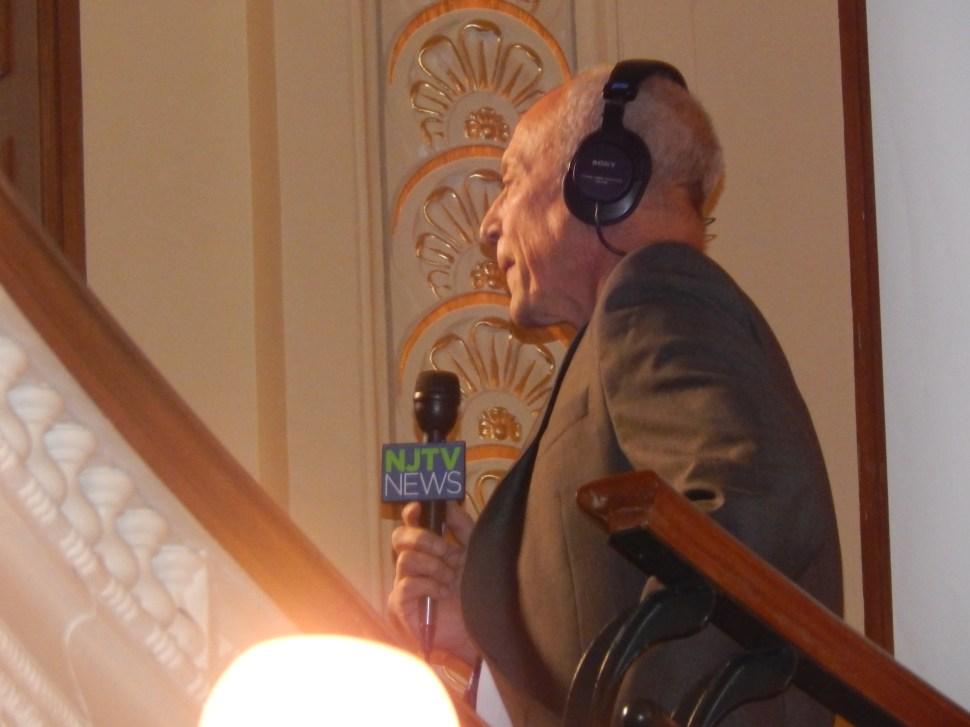 NJTV Chief Political Correspondent Michael Aron.