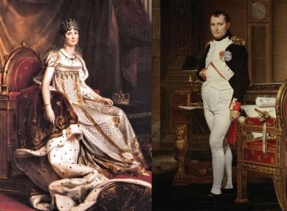 Josephine (R) and Napoleon (L). (Photo: Lion Heart Autographs)