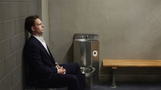 Mike takes a time-out to think about what he's done on Suits.