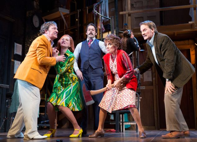 Noises Off, at the (Photo: Joan Marcus)