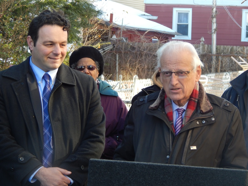 Pascrell, right, and Sayegh.