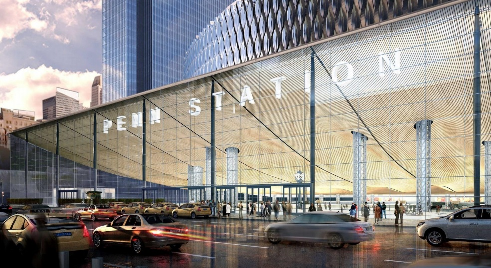 Rendering of one potential design for a new Pennsylvania Station (Photo: Gov. Andrew Cuomo's Office).