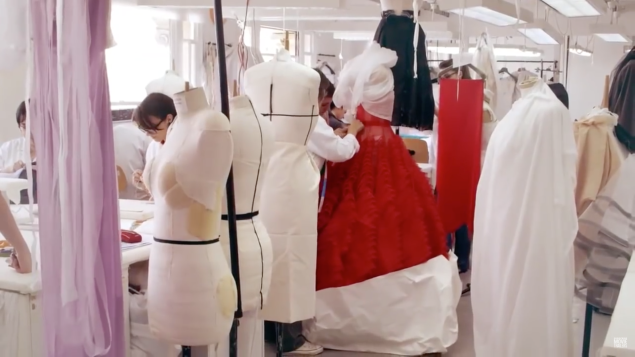 Dior's couture atelier (Photo: Courtesy).