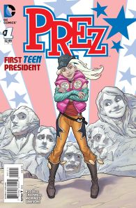 Prez #1 cover variant, by Bret Blevins. (Image: DC Entertainment)
