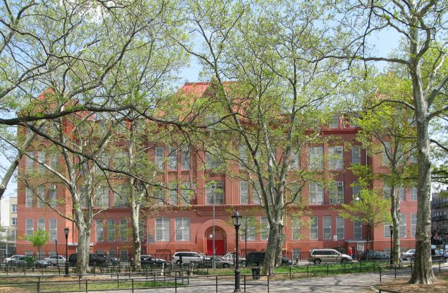 P.S. 110, in Greenpoint, is one of the latest additions to the French dual-language program. (Photo courtesy of P.S. 110)