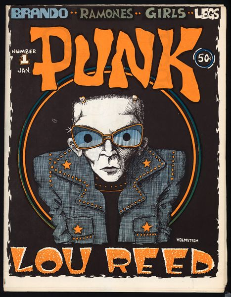 The first issue of Punk.