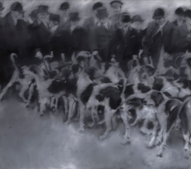Gerhard Richter. Hunting Party, 1966. The Art Institute of Chicago, Gift of Edlis/Neeson Collection. © Gerhard Richter