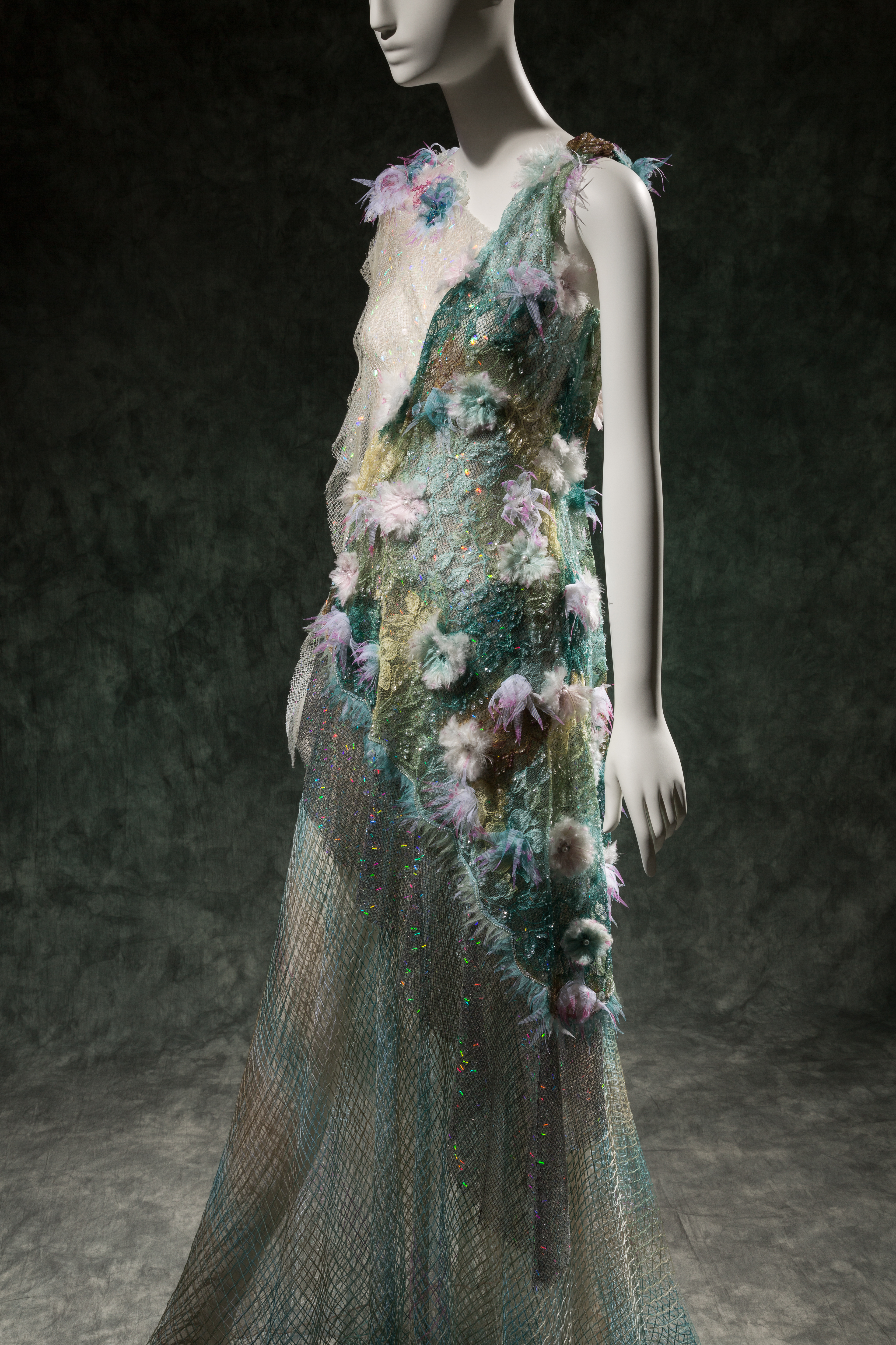Rodarte, dress, spring 2015, USA. The Museum at FIT, Photograph Courtesy The Museum at FIT