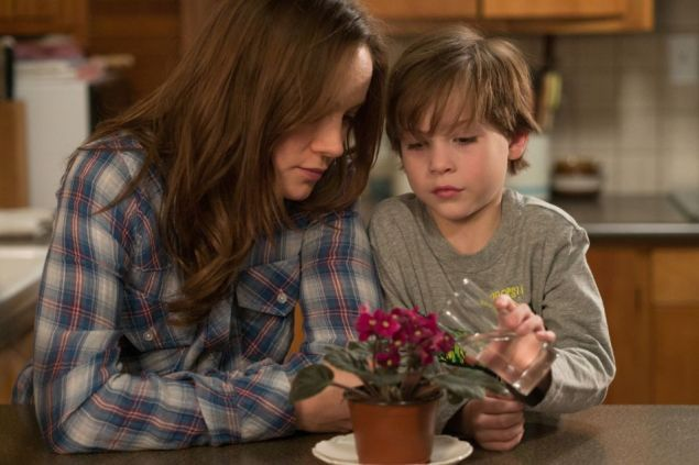 Brie Larson and Jacob Tremblay in Room (Photo: A24 Films)